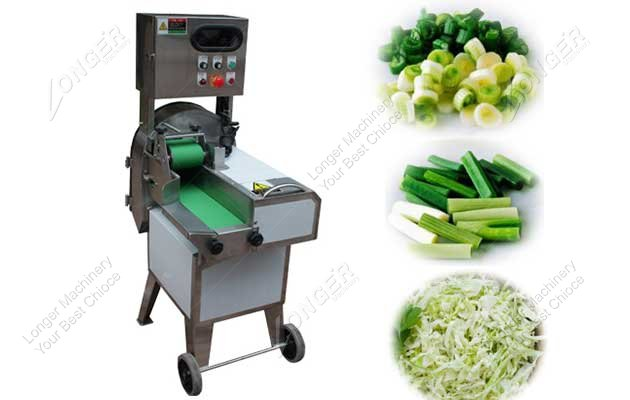 leaf vegetable cutting machine picture