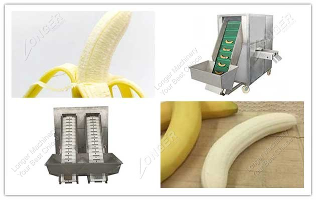 different type banana peeler machine picture
