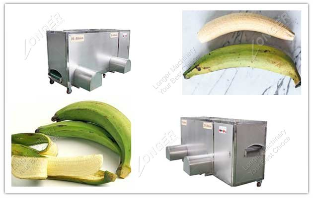 double inlet plantain peeler machine