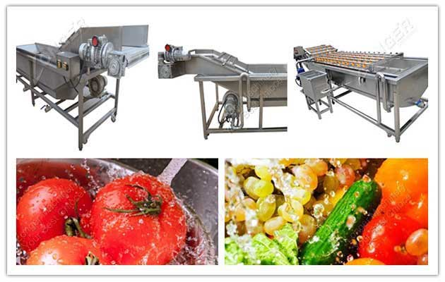 Bubble Type Vegetable Washing Machine